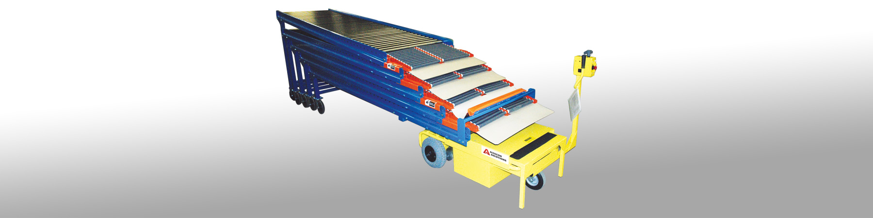 extendable gravity conveyor
