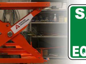Scissor Lifts Help Mitigate Worker Injuries